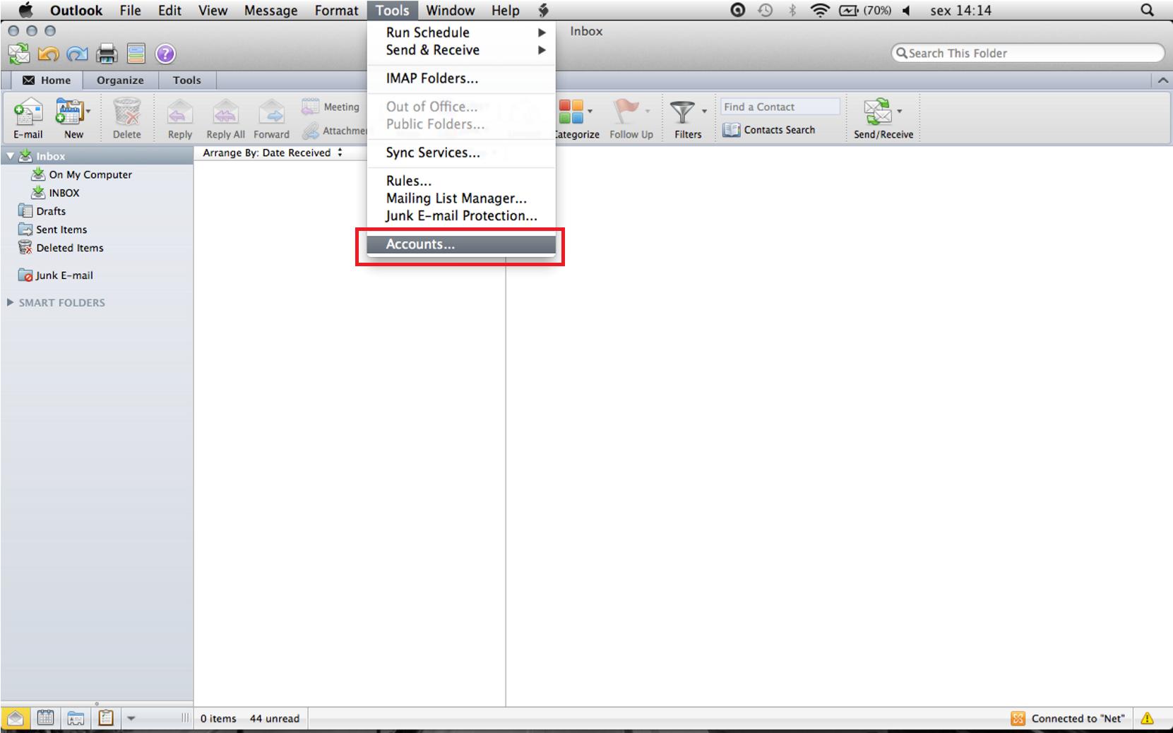how to get outlook on macbook